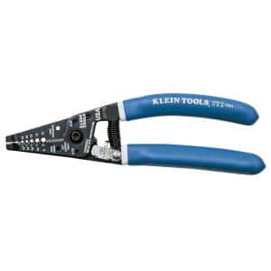 7-1/8 in. Klein-Kurve Wire Stripper and cutter for 8-16 AWG Solid Wire and 10-18 AWG Stranded Wire