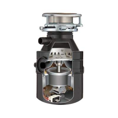 Badger 500 Standard Series 1/2 HP Continuous Feed Garbage Disposal