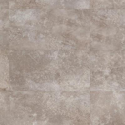 Revive 12mil Metalcrete 12.4 in. W x 24.4 in. L Wildmist Waterproof Glue Down Vinyl Tile Flooring (42.04 Sq. Ft. / Case)