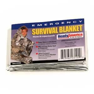 Emergency Survival Blankets (25-Pack)