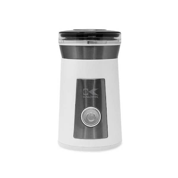 KALORIK 2.3 oz. White Blade Coffee Grinder and Spice Grinder