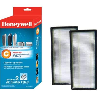HEPAClean Replacement Filter C (2-Pack)