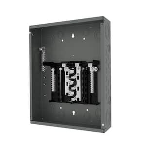 125 Amp 12-Space 12-Circuit Main Lug Plug-on Neutral Load center Indoor