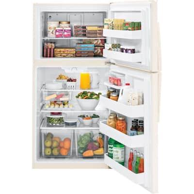 21.1 cu. ft. Top Freezer Refrigerator in Bisque, ENERGY STAR