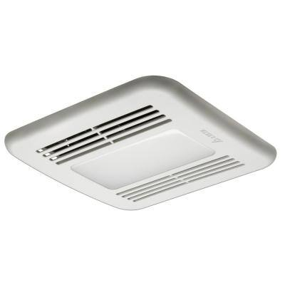 Integrity 50 CFM Ceiling Bathroom Exhaust Fan with Dimmable LED Light, ENERGY STAR (3-Pack)