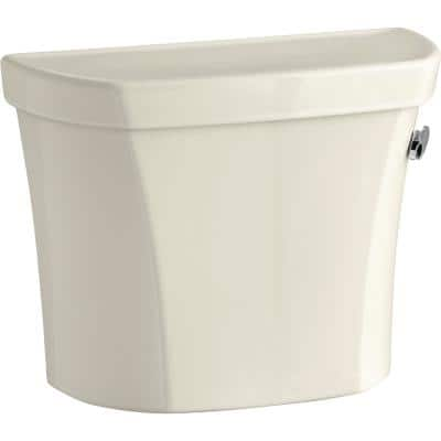 Wellworth 1.0 GPF Single Flush Toilet Tank Only in Biscuit