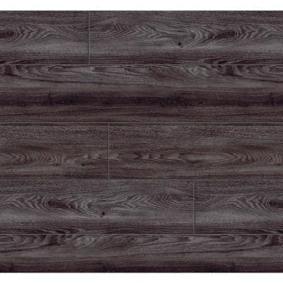 Black Oak 7.5 in. W x 47.6 in. L Luxury Vinyl Plank Flooring (24.74 sq. ft.)