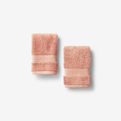 Legends Regal Sandstone Solid Egyptian Cotton Wash Cloth (Set of 2)