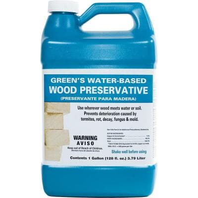 1 gal. Green's Clear Wood Preservative