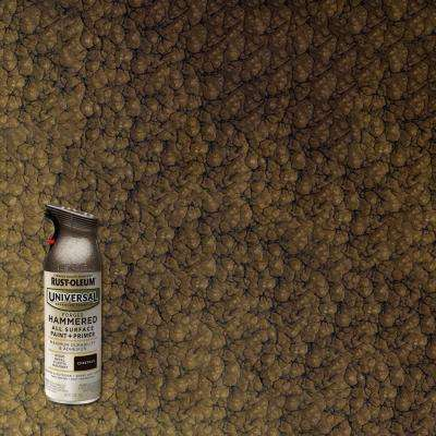 11 oz. All Surface Hammered Chestnut Spray Paint and Primer in One