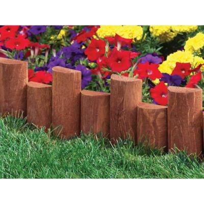18 in. Half Log Edging (6-Pack)