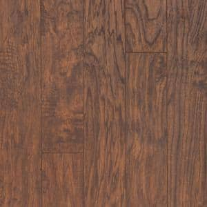 XP Hazelnut Hickory 8 mm T x 5.23 in. W x 47.24 in. L Laminate Flooring (18.9 sq. ft. / case)