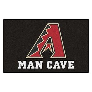 MLB - Arizona Diamondbacks Man Cave UltiMat 5 ft. x 8 ft. Indoor Area Rug