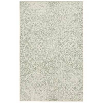 Juniper Cream 4 ft. x 6 ft. Indoor Area Rug