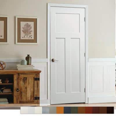 Craftsman Collection Slab Interior Door