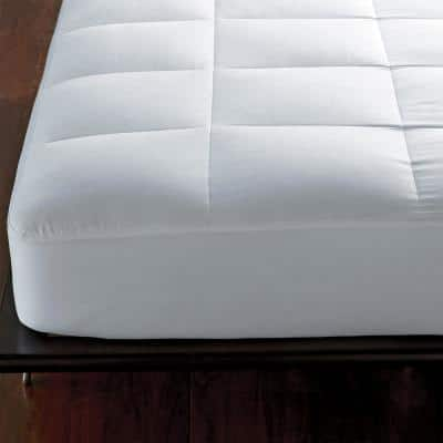 300-Thread Count Queen 1.5 in. Down Mattress Pad