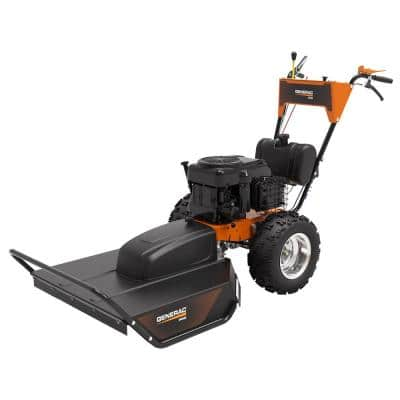 PRO 30 in. 18.67 HP G-Force Gas Electric Start Self Propelled Walk-Behind Field and Brush Mower