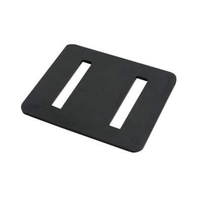 100 Piece Set of 5 in. x 6 in. Rubber Edge Guards