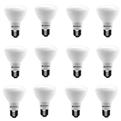 75-Watt Equivalent BR20 Dimmable ENERGY STAR LED Light Bulb Bright White (12-Pack)