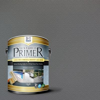 Textured 1 gal. Charcoal Gray Interior Exterior Bonding Primer Penetrating Anti-Slip