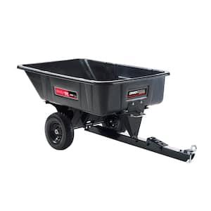 10 cu. ft. Heaped 600 lb. Poly Swivel 180° Full-Dump Cart