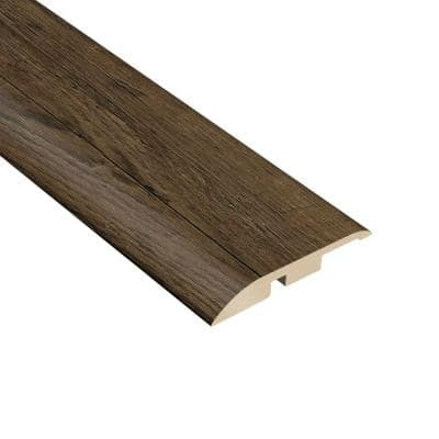 Oak Chestnut 1/4 in. Thick x 1-3/4 in. Wide x 94-1/2 in. Length Vinyl Multi-Purpose Reducer Molding
