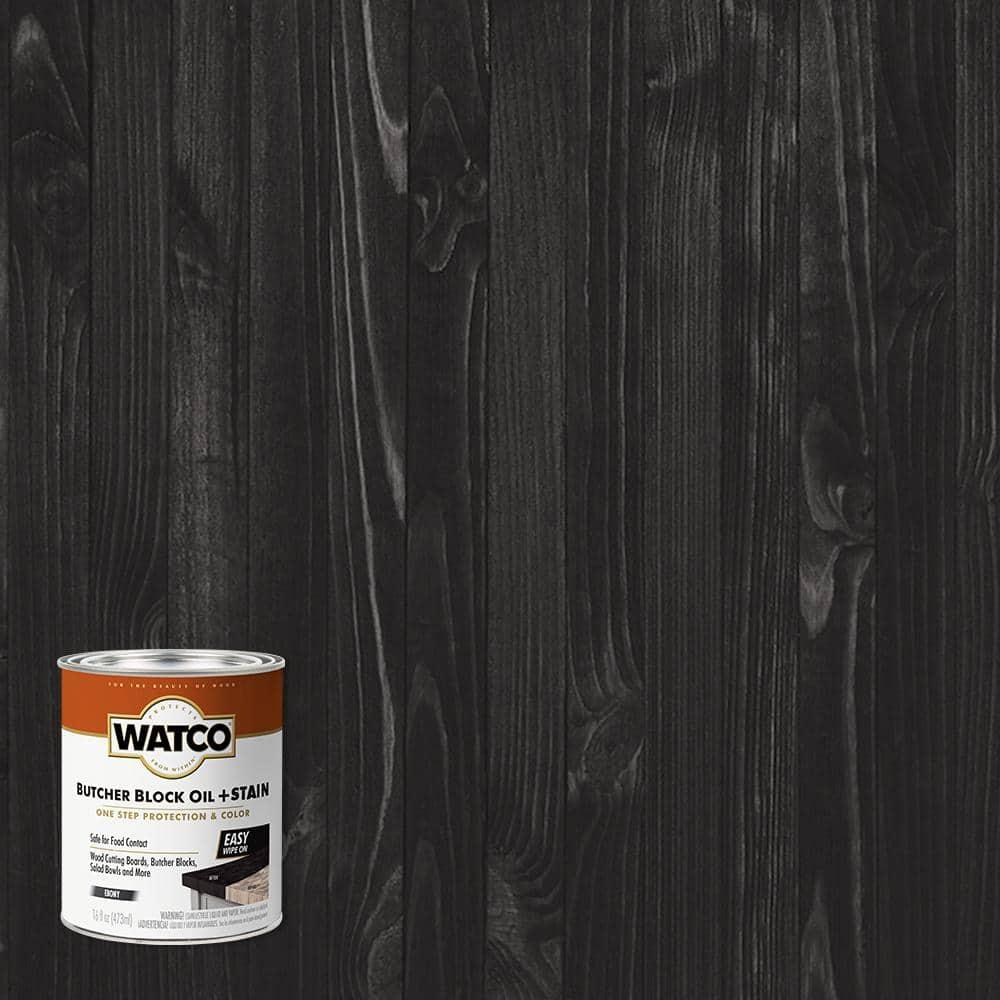Watco 1 pt. Ebony Butcher Block Oil (4-Pack)