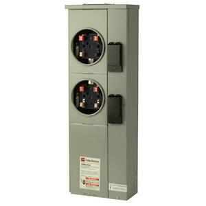 125 Amp Dual Ring Meter Socket