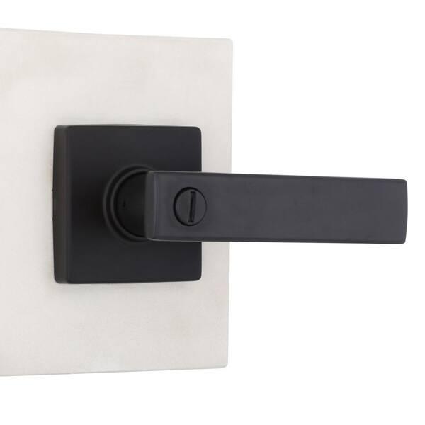 1-15 Twist Black Nickel Door Handles on Rose FAST /& FREE DELIVERY D21