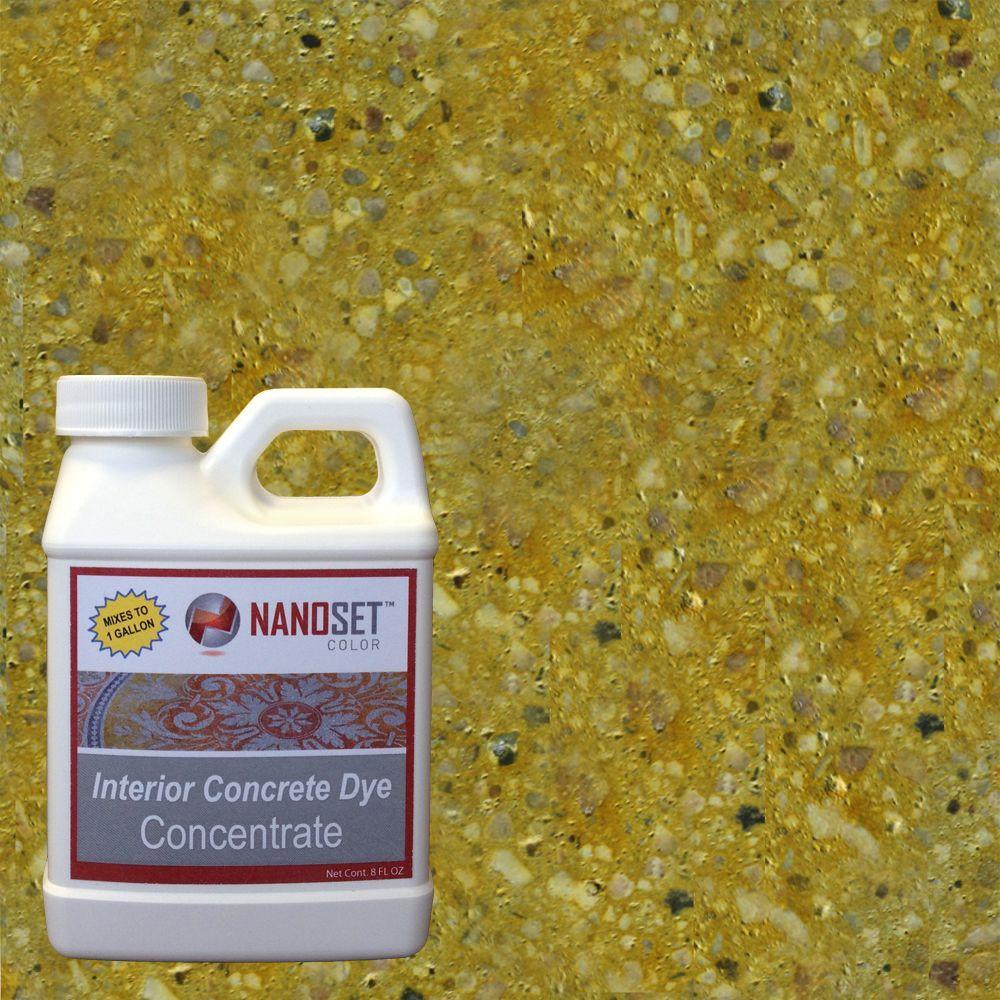 8-oz. Citrine Interior Concrete Dye Stain Concentrate