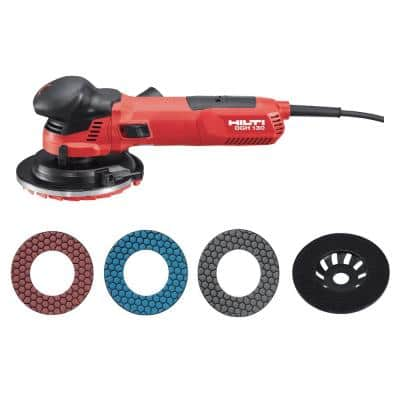 10.9 Amp 120-Volt Corded 5 in. Concrete Angle Grinder with 5 in. SPX Universal Cup Washer and Case