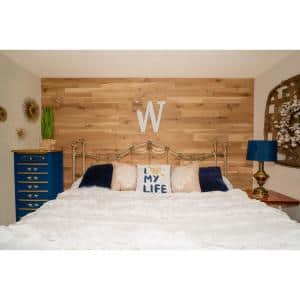 12 3 8 In X 5 In X 48 In 20 Sq Ft Naturally Preserved Reclaimed Redwood Panel 1202 The Home Depot