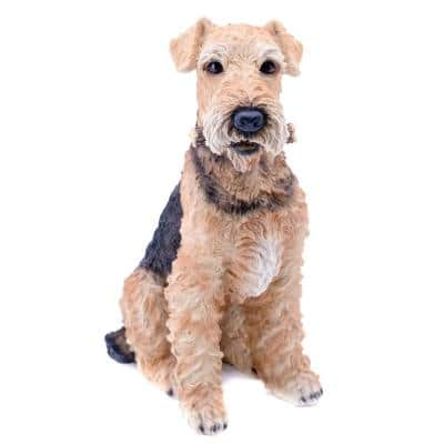 Airedale Terrier Statue