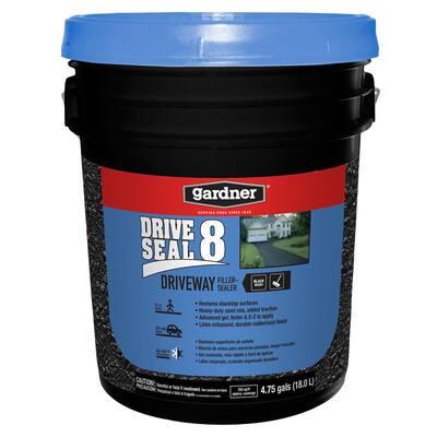 4.75 gal. DriveSeal 8 Driveway Filler and Sealer