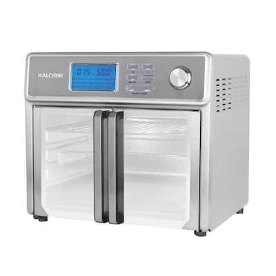 MAXX Plus 26 qt. Stainless Steel Digital Air Fryer Oven