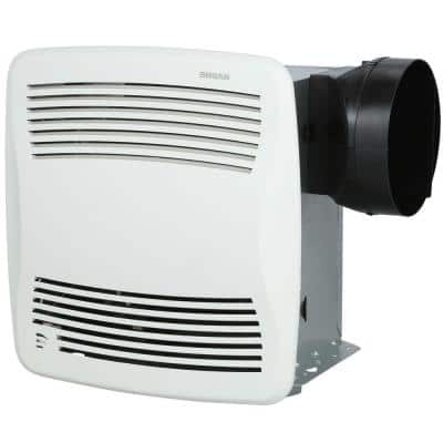 QT Series Very Quiet 110 CFM Ceiling Bathroom Exhaust Fan with Humidity Sensing, ENERGY STAR*