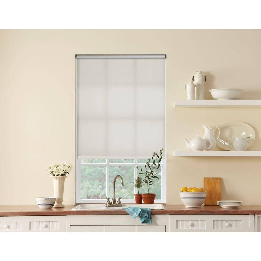 Bali Cut To Size Cut To Size White Cordless Light Filtering Fade Resistant Roller Shades 55 5 In W X 72 In L 37 3002 01 57 5 72 The Home Depot
