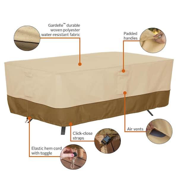 Premium Garden Table Case Cover B 260cm X D 165cm X H 90cm Anthracite
