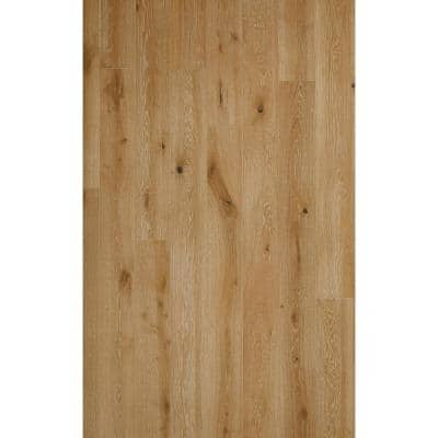 Euro White Oak Cottontail 5/8 in Thick x 7.5 in. W. x Varying Length Engineered Hardwood Flooring (809.7sq. ft./Plt)