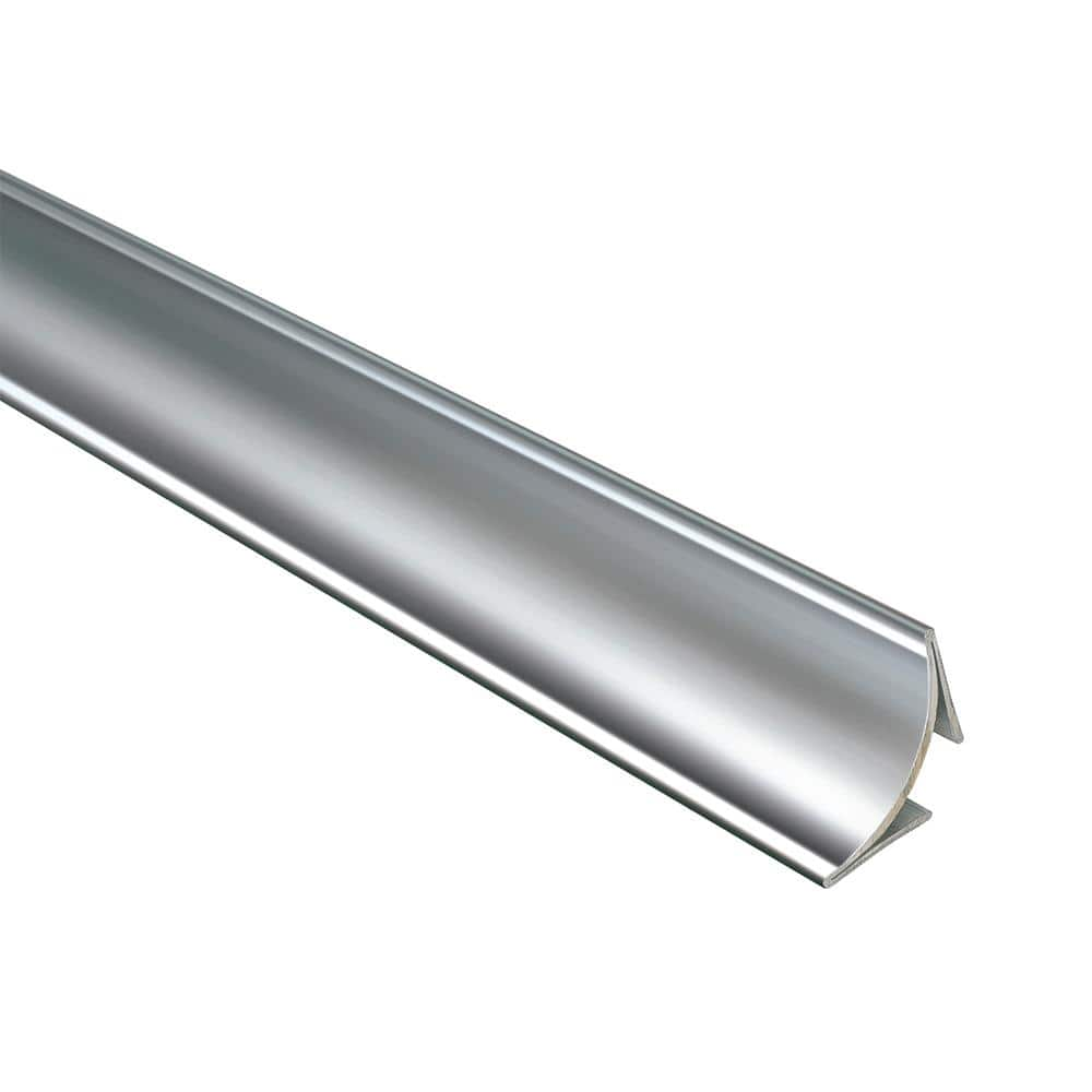 Emac Novoescocia 4 Natural 1 1 2 In X 98 1 2 In Stainless Steel Tile Edging Trim Ns416x The Home Depot