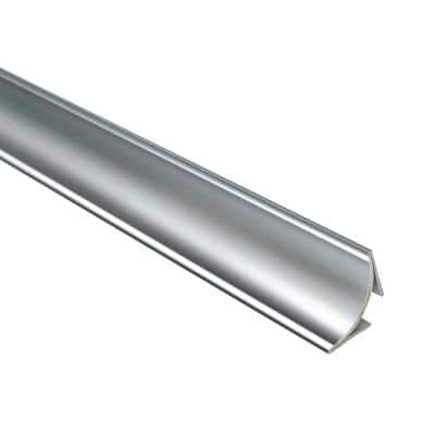 Novoescocia 4 Natural 1-1/2 in. x 98-1/2 in. Stainless Steel Tile Edging Trim