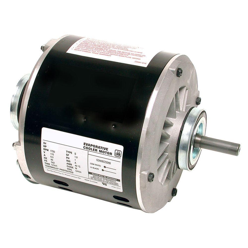 DIAL 2-Speed 3/4 HP Evaporative Cooler Motor-2206 - The Home DepotThe Home Depot