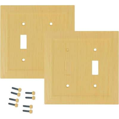 Decorative Look 2 Gang Toggle (Pack of 2)