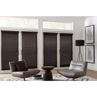 Classic 2-1/2 in. Faux Wood Blind