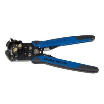 8-1/4 in. Self-Adjusting Wire Stripper and Cutter for 10-20 AWG, 12-22 AWG, 12/2 and 14/2 Romex Wire