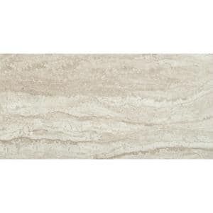 Sigaro Ivory 12 in. x 24 in. Matte Ceramic Floor and Wall Tile (16 sq. ft./Case)