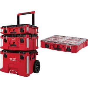 PACKOUT Modular Tool Box Storage System with Organizer