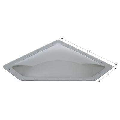 New Angle RV Skylight, Outer Dimension: 32 in. x13 in.