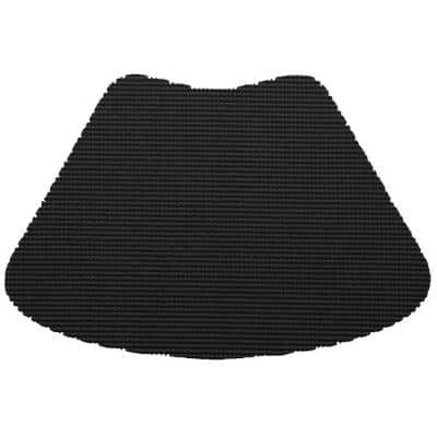 Fishnet Wedge Placemat in Black (Set of 12)