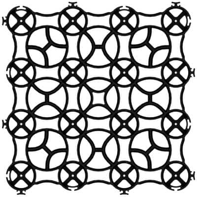22 in. x 22 in. x 1.5 in. Premium Grid Plastic (12 Pavers/40.50 sq. ft.)